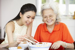 Home-based Elder Care in a Family Economy